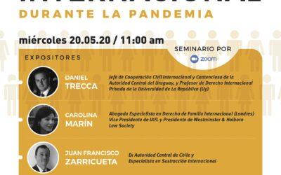Charla internacional organizada por el Instituto de Estudios Judiciales y AAF
